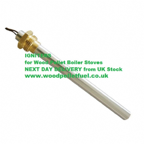 Igniter for Wood Pellet Stove / Boilers HT62648 - Dia.9.9mm L:136 mm 250W